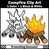 Campfire Clip Art for Commercial Use Camping Activities & Resources SPS
