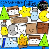 Campfire Cuties Clipart {Camping Clipart}