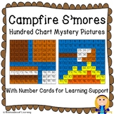 Campfire S'mores Roasting Marshmallows Hundred Chart Mystery Pictures