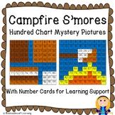 Campfire S'mores Roasting Marshmallows Hundred Chart Myste