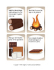 Campfire S'mores Story Sequence and File Folder Matching