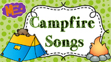 Campfire Songs - Vol. 1 - 15 Songs with Lyrics, Chords, &