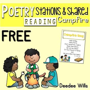 Poetry FREEBIE Campfire
