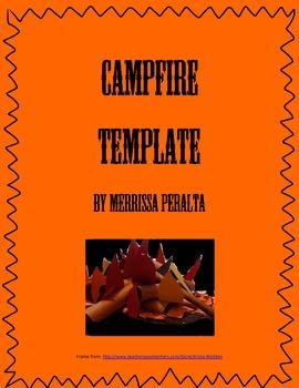 Campfire Template-Sharing Student Written Stories