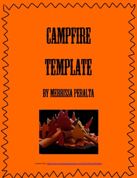 Campfire Template-Sharing Student Written Stories
