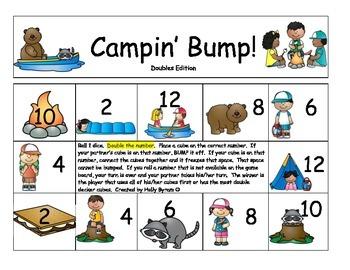 Campin' Bump Math Games