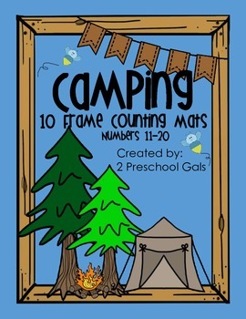 Camping 10 Frame Counting Mats (11-20)