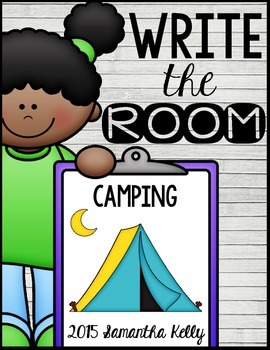 Camping Write the Room Center