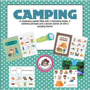Camping - A fun filled vocabulary activity packet