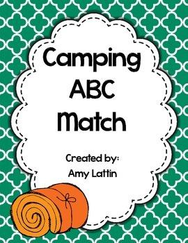 Camping ABC Match