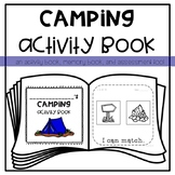 Camping Activity *Memory* Book for Young Learners or Special Education