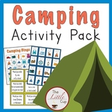 Camping Activity Pack