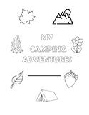 Camping Activity Workbook
