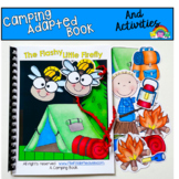 """Camping Adapted Book And Activities:  """"The Flashy Little Firefly"""""""