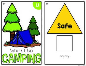 Camping Adapted Books ( Level 1 and Level 2 )