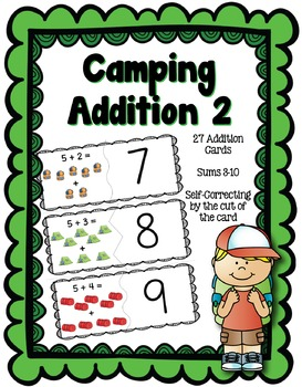 Camping Addition Sums 3-10