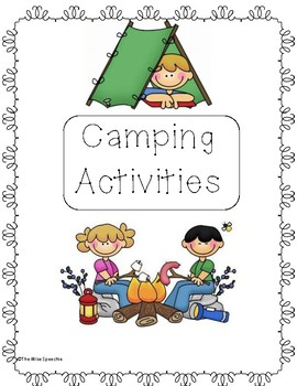 Camping Adventure Therapy Activities
