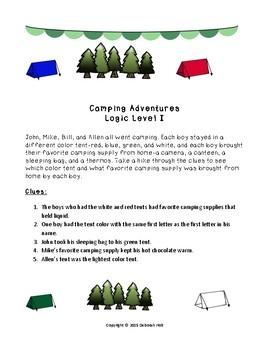 Camping Adventures Logic Level I