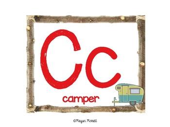 Camping Alphabet