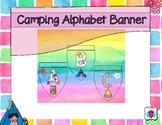 Camping Alphabet Banner