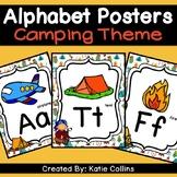 Camping Alphabet Poster #2