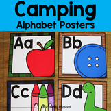 Camping Alphabet Posters