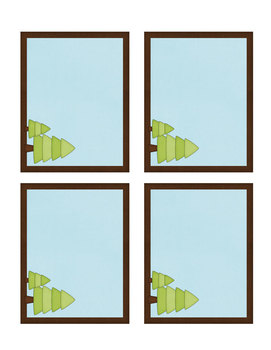 Camping Alphabet Posters and Customizable Labels