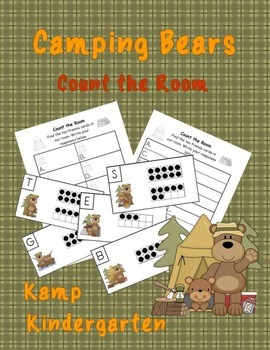 Camping Bears Count the Room (Quantities to 20)