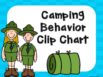 Camping Behavior Clip Chart