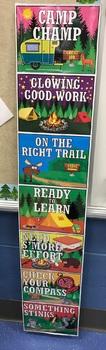 Camping themed Behavior Clip Chart