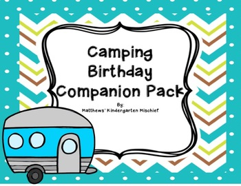 Camping Birthday Pack