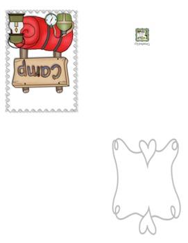 Camping Blank Greeting Cards w/Matching Envelopes