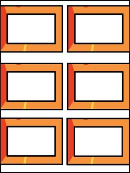 Camping Blank Labels