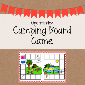 Camping Board Game | Open-Ended Game