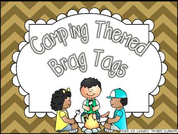 Camping Brag Tags