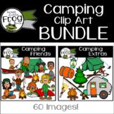 Camping Clip Art Bundle