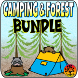 Camping Bundle Camping Centers Woodland Camping Theme Camping Activities