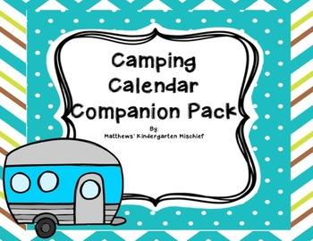 Camping Calendar Companion Pack