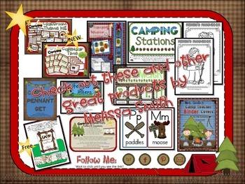 Camping Calendar Time