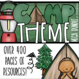 Camping Camp Out Classroom Decorations and Management Mega Bundle