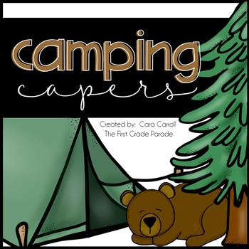Camping Capers {Math, Literacy, & Science Activities}