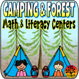 Camping Centers Math Literacy Woodland Camping Theme Camping Activities