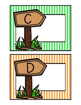 Camping Class Library Labels
