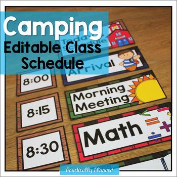 Camping Class Schedule