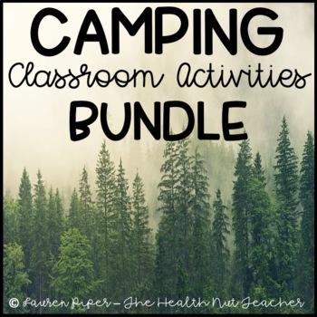 Camping Classroom Activities BUNDLE