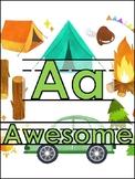 Camping Classroom Bundle Freebie