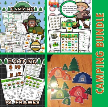 Camping Classroom Center Bundle