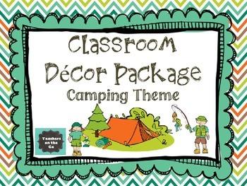 Camping Classroom Decor