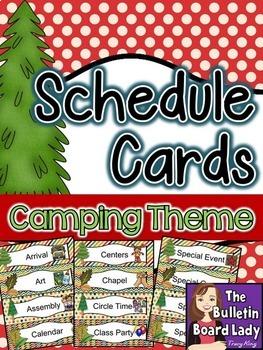Camping Classroom Decor BUNDLE
