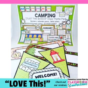 Camping Classroom Decor: Camping Theme Classroom